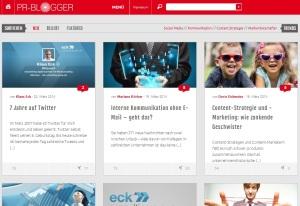 PR Blogger von Klaus Eck