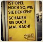 Opel's Umparken im Kopf Kampagne
